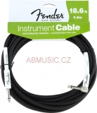 FENDER 099-0820-008 Instrument Cable 18,6 ' - 5,5m Zahnutý- Performance inspired