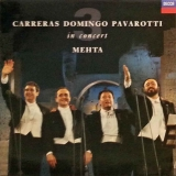 LP Carreras Domingo Pavarotti - In Concert Mehta 3 - LP deska / Vinyl