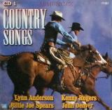 Country Songs , CD ( Lynn Anderson, Johnny Cash, Kenny Rogers....)