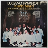 LP Luciano Pavarotti - O Holy Night