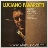 LP Luciano Pavarotti - Arias By Verdi And Donizetti