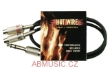 Kabel Hot Wire Basic Line 2x Cinch Zásuvky - 1x Stereo Jack 6,3 mm