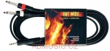 Kabel Hot Wire Basic Line 1x MiniJack -2x Jack