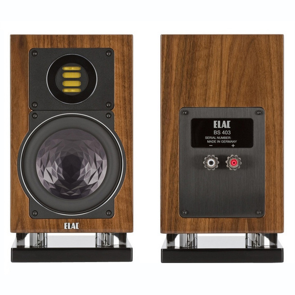 ELAC BS 403 Walnut High Gloss - Pár
