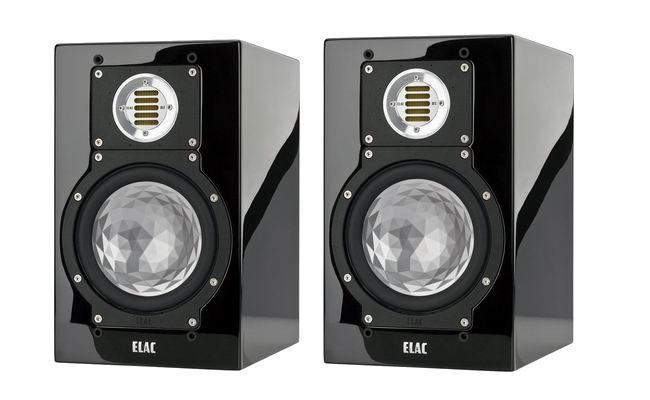 ELAC BS 244.2 Black High Gloss
