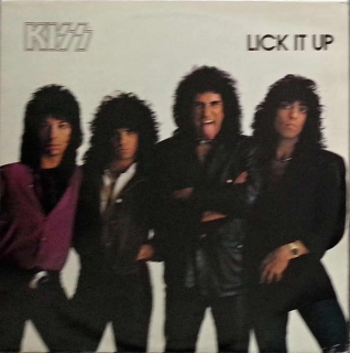 LP KISS - Lick it up - LP deska / Vinyl