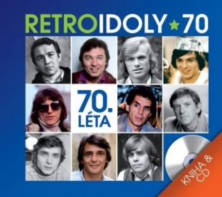 Retro Idoly 70. léta - CD+kniha