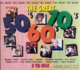 The Great 50´s, 60´s, 70´s - 3 CD Box