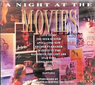 A Night At The Movies - London Philharmonic Orchestra , 3CD Box