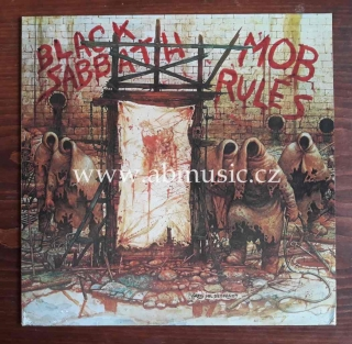 LP Black Sabbath Mob Rules