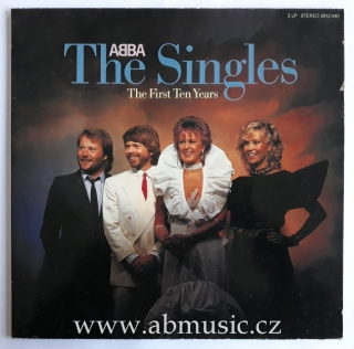 2 LP ABBA The Singles - The First Ten Years