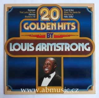 LP Louis Armstrong ‎- 20 Golden Hits By Louis Armstrong