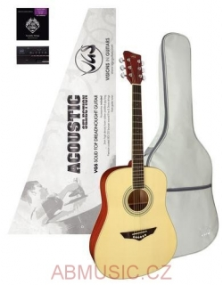 GEWA Akustická kytara VGS Acoustic Selection Mistral Natural Satin